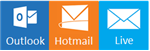 Fuer Hotmail, Live, Outlook, eine alternative email (keine hotmail/live/outlook)